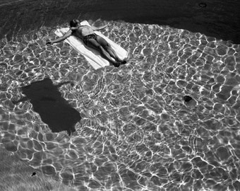 Floating Swimmer Fine Art Photograph