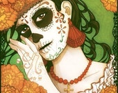 Art Print - La Calavera Catrina Day of the Dead 8.5x11