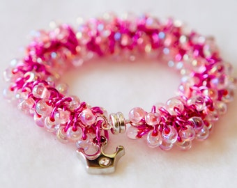 Children Shaggy Loop chainmaille Bracelet