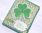 Happy St. Patrick's Day Shamrock Greeting Card