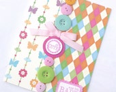 Cute as a Button Baby Card -Baby Shower Card, New Baby Card