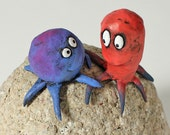 SALE art for lovers, squid sculpture, I DO TOO