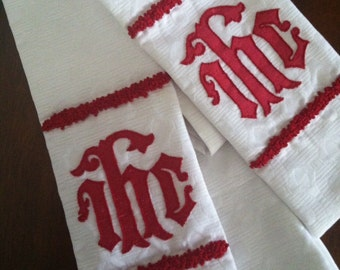 Made to Order: Christogram  Liturgical Stole