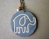 Elephant Necklace, Ganesh Dream,