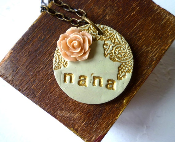 Mother's Day - Grandma Necklace - Read SHIPPING INFO below
