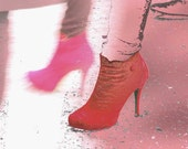 Red shoes Photography