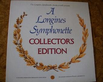 A Longines Symphonette Collectors Edition LP Album, 1969