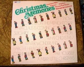 Christmas Memories, LP Album, Various Artist, 1980, Nanas Vintage Shop on Etsy