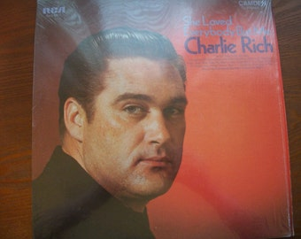 CHARLIE RICH, She Loved Everybody  But Me, Vinyl LP Album, Nanas Vintage Shop
