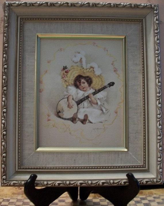 framed art maud humphrey bogart susanna nanas vintage shop. Black Bedroom Furniture Sets. Home Design Ideas