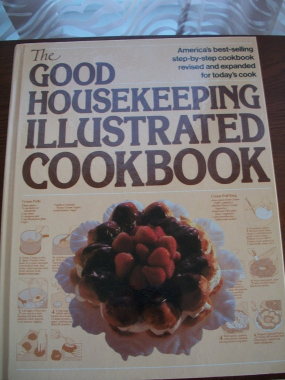 The Good Housekeeping Illustrated Cookbook, 1989,  from Nana's Vintage Shop on Etsy