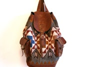 RESERVED FOR EMILY Southwestern Navajo Backpack
