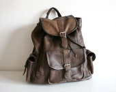 SALE Indiana Leather Backpack