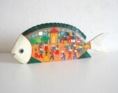 SALE Mexican Folk Art Fish
