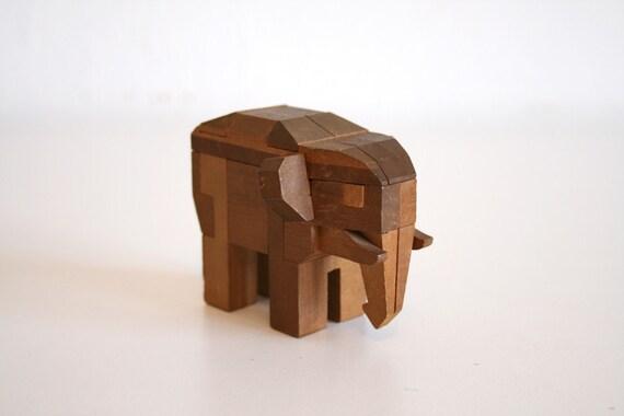 SALE Kumiki Elephant Puzzle