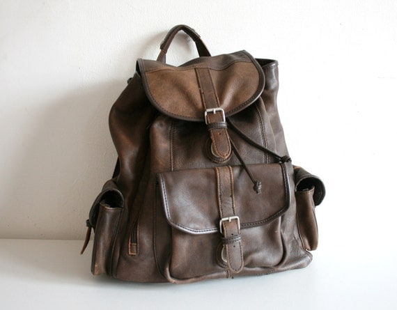 Indiana Leather Backpack