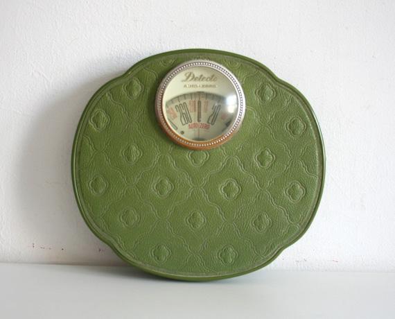 Vintage Avocado Green Scale