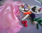 Playfood/ Play set, oufit, veggies,fruit,cookies,cakes,jewelry children,preschool....Christmas, gift. Etsykids