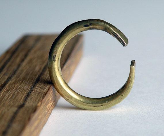 Crescent Moon Ring