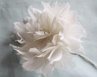 Feather Flower Tutorial, Feather Flower, Flower Tutorial, Feather Peony