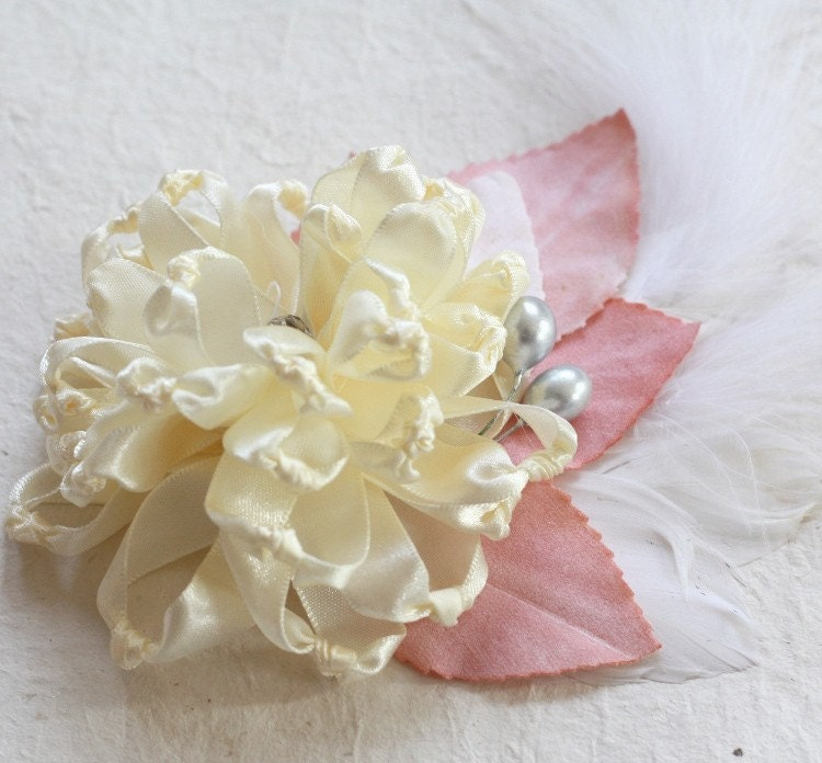 Beautiful and Easy Singed (Melted) Fabric Flower Tutorial ...   Fabric Hair Flowers Tutorial