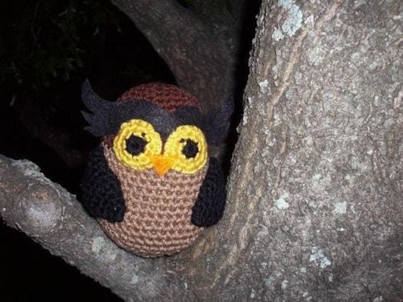 Items similar to SALE- Owl Amigurumi Doll on Etsy