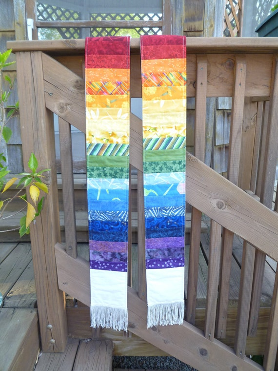 Rainbow Clergy Stole