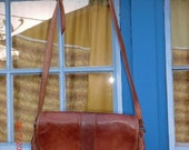 brown leather palio purse