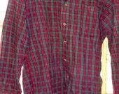 fall into winter flannel