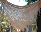 RESERVED the nude grove vintage shawl and/or scarf