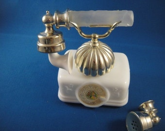 French Telephone Decanter Vintage Avon