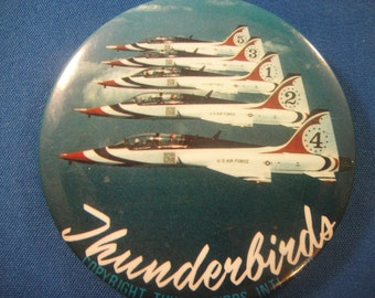 Thunderbirds USAF Button Pin 1979