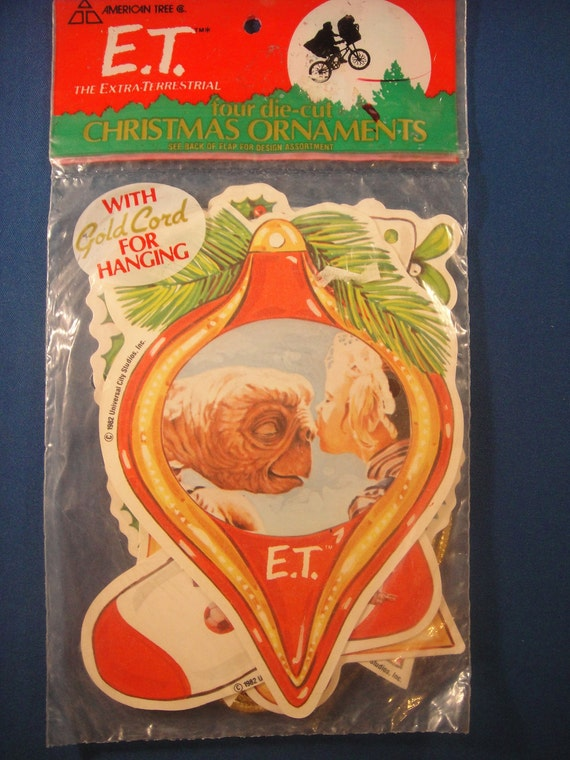 E.T. Christmas Ornaments Die Cut