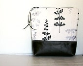 Modern Leather Clutch Black Brown White Silver