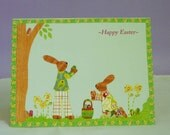 Woodland Easter Card