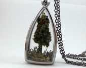 Tree Terrarium Necklace - Adopt a Tree No.2 - FREE Shipping
