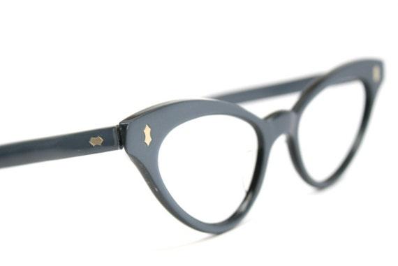 cat eye glasses vintage cateye frames by vintageopticalshop