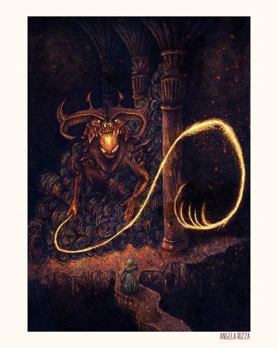 Durin's Bane 8x10 Print