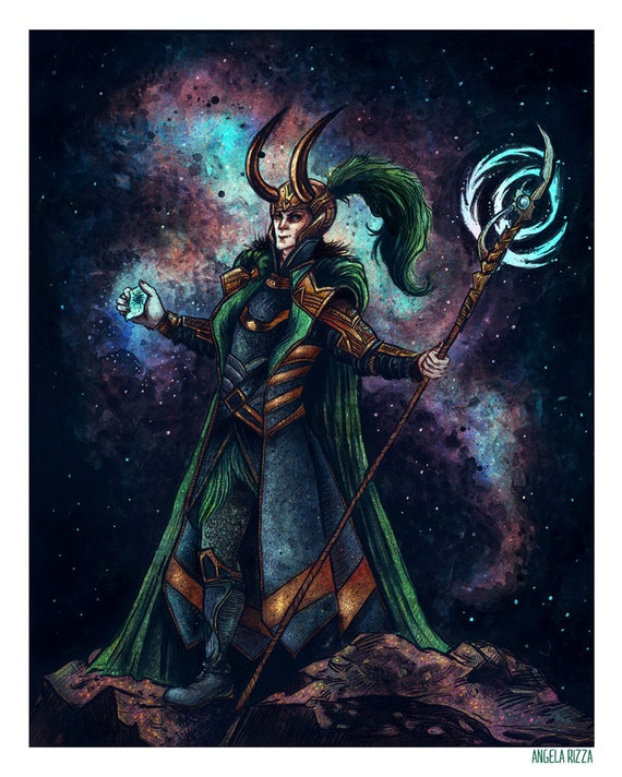 """Loki 8x10"""" Print"""