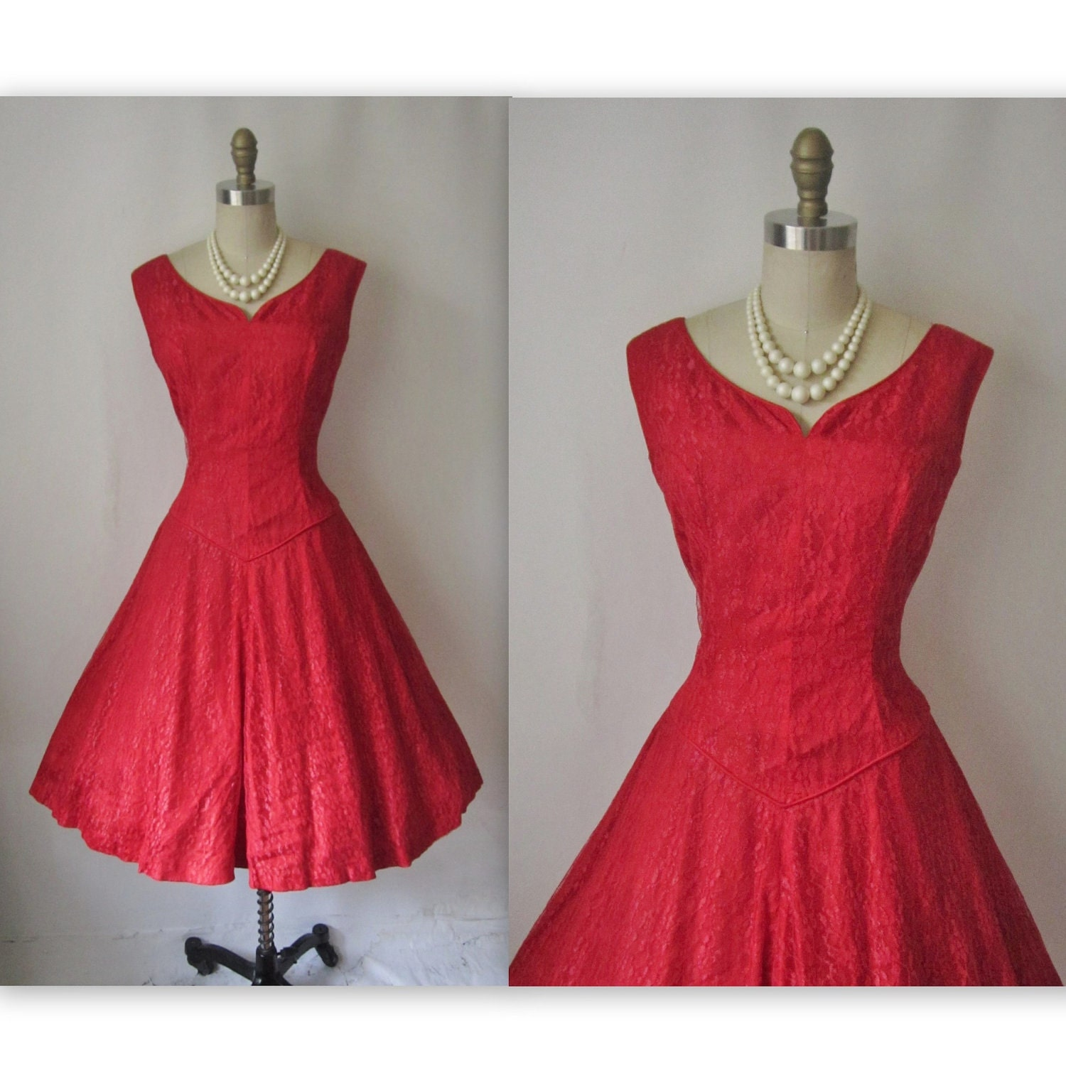 Cherry Red Dresses