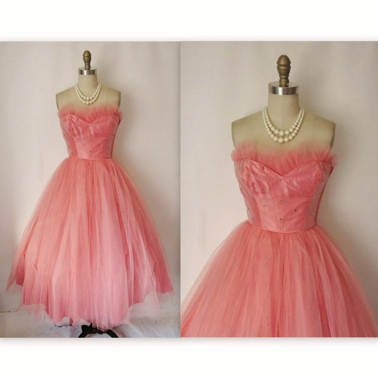Vintage 50&-39-S Prom Dresses For Sale - Holiday Dresses