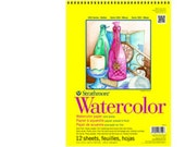 Strathmore Watercolor Pad- tape bound-140lb