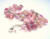 Breast Cancer Needs To Be Kicked In The Face (Pink Charm Bracelet)