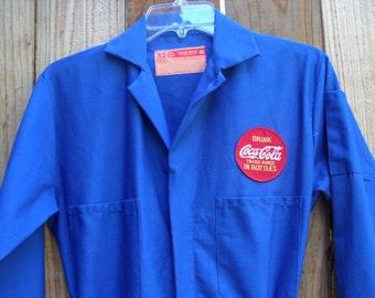 """Vintage"""" COCA COLA"""" Union Jumpsuit, New Listing for Vintage, Coca Cola Collecter"""