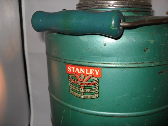 "Thermos"" Stanley"" Gallon Water Despenser / Vintage Stanley Jug / Original Stanley Thermos"