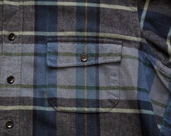 mens vintage LL Bean chamois cloth shirt