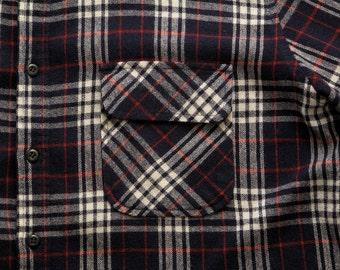 mens vintage field master flannel shirt