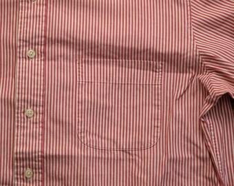 mens vintage liberty of london spread collar shirt