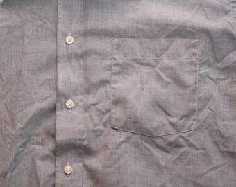 mens vintage Christian Dior contrast collar shirt