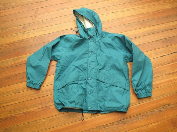 mens vintage LL bean all weather parka
